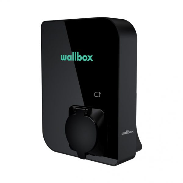 Wallbox Copper SB black ev charger