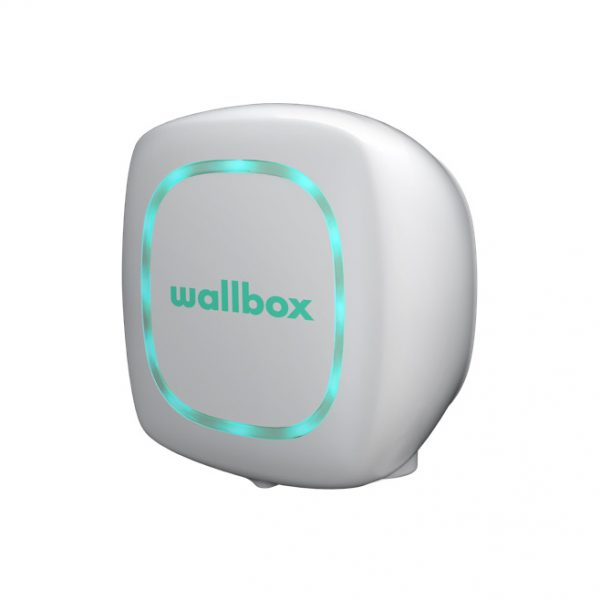 Wallbox Pulsar in white ev charger