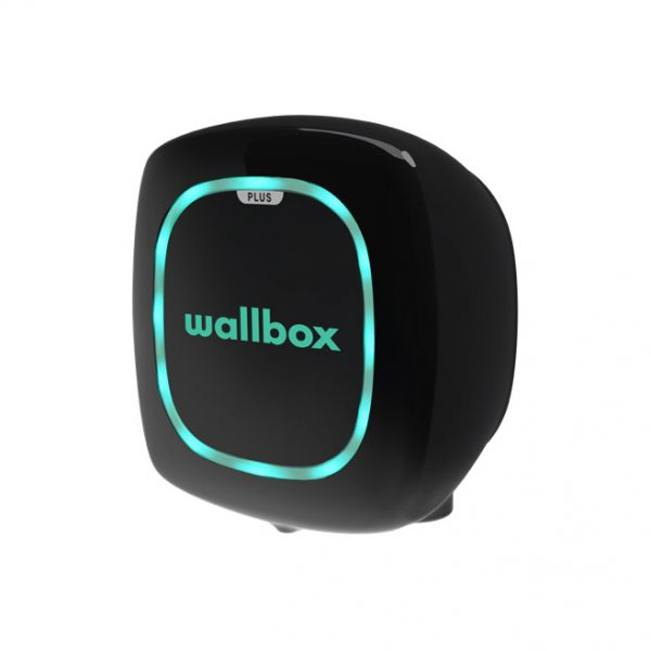 Wallbox pulsar plus black ev charger