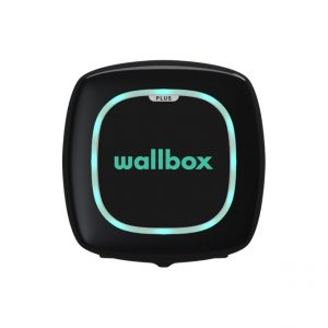 Wallbox pulsar plus ev charger in black