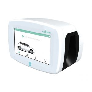 Wallbox Commander 2 in white