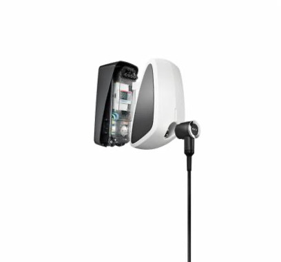 EVBox Elvi 11kW electric car charger in white from the EV Charger Shop